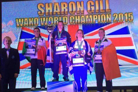 Gold and bronze at the WAKO World Championships!