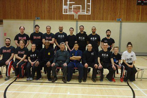 Wushu seminar with Coach Xia from China – 29 January
